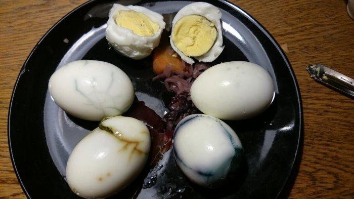 Spiselige plantefarvede æg (9)